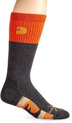 1 Pair Carhartt Outdoor Crew Socks, Men's Shoe Size 6-12, Gr
