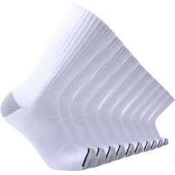 Enerwear 10Pack Men's White Cotton Outdoor Cushion Crew Boot
