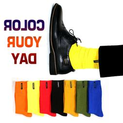 10Pairs Men Cotton Socks Solid Color Business Casual British