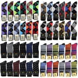 Lot 6 12 Cotton Mens Funny Colorful Novelty Business Wedding