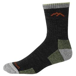 1466 lime merino wool mens hiker socks