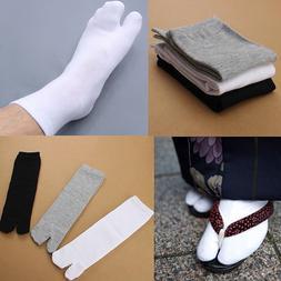 1Pair Mens Womens Japanese Kimono Flip Flop Sandal Split Toe