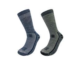 2 Pack Mountain Lodge Men's or Women's 71% Merino Wool Socks
