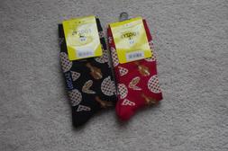 2 pairs chicken wing drumstix women s