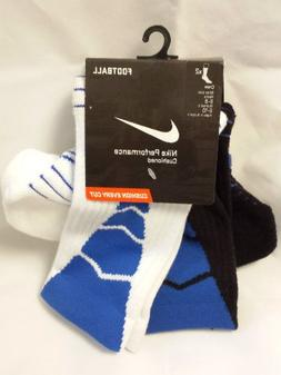NIKE 2PPK PERF FOOTBALL CREW  Style# SX4561 MENS Size: OS