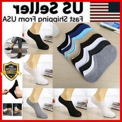 3 12 pairs men invisible socks no