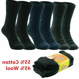 3-12 Pairs Winter Men Heavy Duty Thermal Heated Warm Work So