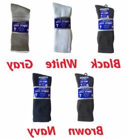 3, 6, or 12 Pairs Men's Diabetic CREW circulatory Socks Heal