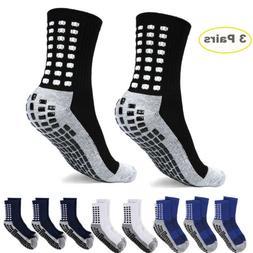 1-3Pair Anti Slip Non Skid Slipper Hospital Socks with grips