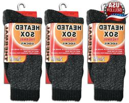 3 pairs men s thermal socks insulated