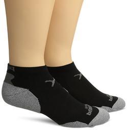 PUMA Men's 360 Low Cut Sock 2Pk, Black, 10-13