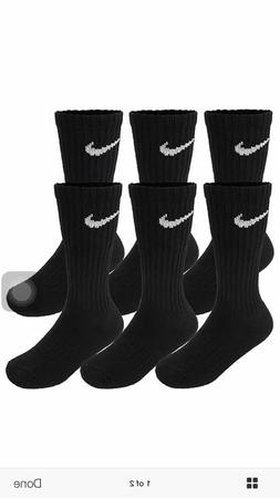 Nike 3Pairs Performance Cotton Cushioned Crew Socks Size L/G