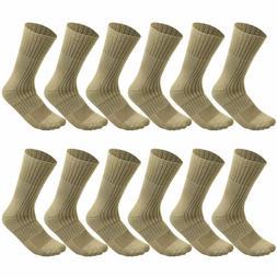 4 Pack Military Boot Socks Combat Tactical Trekking Hiking O