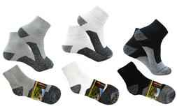 4 PAIR ANKLE PREMIUM QUALITY HEAVY THICK SOCKS COTTON ATHLET