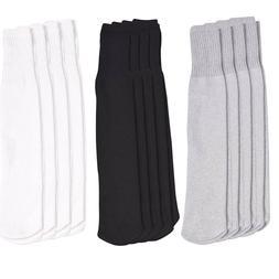4 Pairs Athletic Thick socks Calf / Knee High Men's Tube Soc