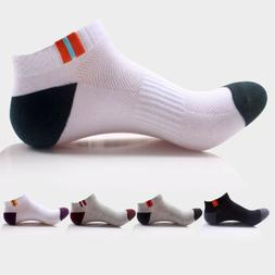 5/10 Pairs Mens Ankle Low Cut Sports Running Cycling Crew Co