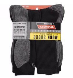 Dickies® 5 Pair Crew Work Socks Dri-Tech Mens 12-15 Extra T