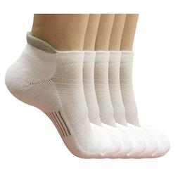 5 pair Mens Low Cut Breathable Ankle Cotton Athletic Cushion
