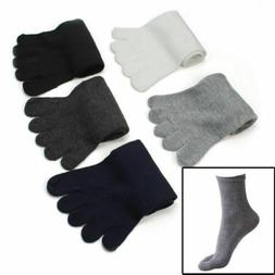 5 Pairs Fashion Men Five Fingers Separate Toe Socks Comforta