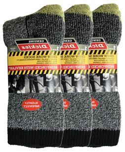 Dickies Imperfect Kevlar Reinforced Crew Socks 3 Pair, Men'
