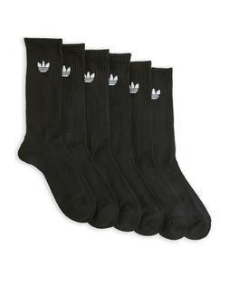 6 Pairs Adidas TREFOIL MEN Moisture Wicking CUSHION CREW Soc