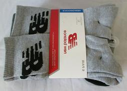 New Balance 6 pair Crew Men Sock size  L