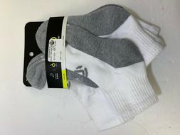 6-Pairs Champion Double Dry Performance Men's Quarter Socks