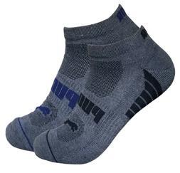 6 pairs mens puma dri fit low cut socks ankle socks 10-13