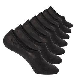 7 Pack No Show Socks Cotton Thin Non Slip Low Cut Men Invisi