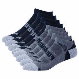 **8 Pair Puma Men's No Show Low Cut Socks ~ Free Shipping