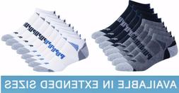 8-pair NEW Puma Men LOW CUT , Size 10-13 or 13-15