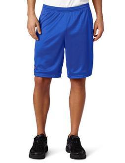 Champion Men's Long Mesh Short With Pockets, Team Blue, X-La