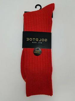GOLD TOE Men's Premier Fashion Dress Solid Color Socks 10-12