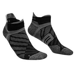 Toes&Feet Men's 2-Pack Antibacterial Quick-Dry Thin Ankle Ru