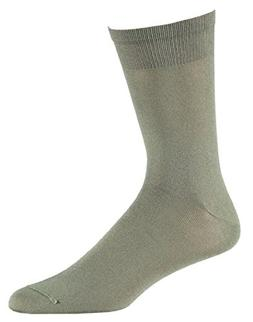 YUEDGE Men's 2 Pack Antiskid Wicking Cotton Socks For Outdoo