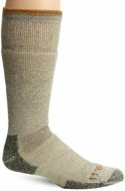 Carhartt Men's Arctic Wool Heavy Boot Socks,  Moss, Shoe: 6-