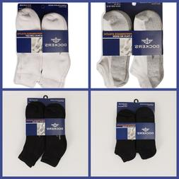 Dockers Athletic Socks 6 Pack Men Size 10-13 Black White 4 S