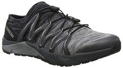 Merrell Men's Bare Access Flex Knit Sneaker Black/Grey 10 M