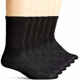 Dockers Basic Cushion Crew Socks, 6 Pair - Choose SZ/Color