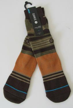 Stance Men's Basilone Sock, Camo, Large/X-Large