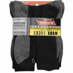 Dickies Big and Tall Men's Dri-Tech Comfort Crew Work Socks