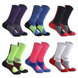Big Boys Ski Outdoor Hiking Crew Basketball Sports Socks Soc
