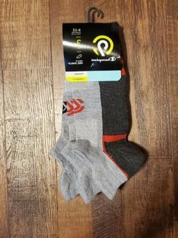 C9 Champion Men's Athletic Socks 3 Pack HEEL SHIELD No show