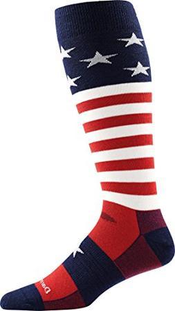 Darn Tough Captain America Cushion Sock - Men's Stars & Stri