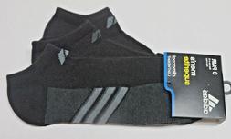 adidas Men's CC Superlite No Show Sock , Black/Infrared, One