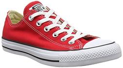 Converse Chuck Taylor All Star Lo Top Red Canvas Shoes with