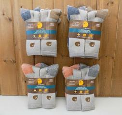 Carhartt Cold Weather Men's Crew Socks Large 8 Pairs ~ New