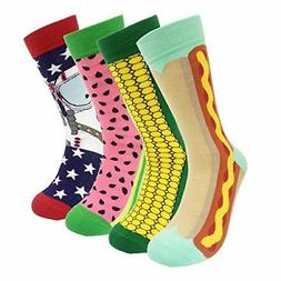 Colorful Mens Dress Socks Funky – HSELL Men Multicolored C