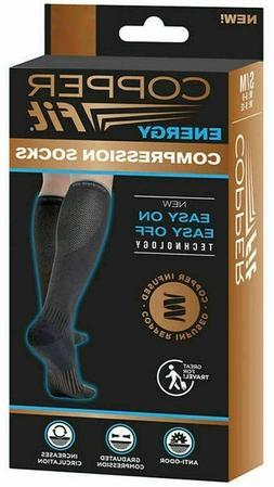 Compression Socks Copper Fit Anti-Odor Increases Circulation