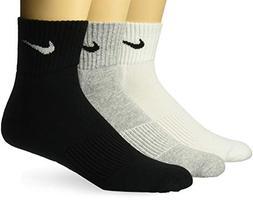 Nike Cotton Cushion Quarter Socks Multi-Color  SX4703-901 Si
